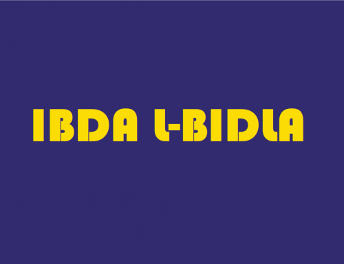 """Ibda L-Bidla"": Training and Activities offered to Schools, Teachers and other Educators"